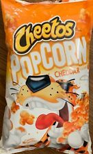 NEW CHEETOS POPCORN CHEDDAR FLAVORED 7 OZ BAG FREE WORLD WIDE SHIPPING BUY ITNOW