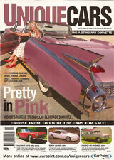 Unique Cars 256 Cadillac Eldorado Biarritz Ghibli Vintage Caravan Sting Ray Vett