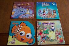 Disney MIXED BOOK LOT Oliver & Company Nemo Aladdin