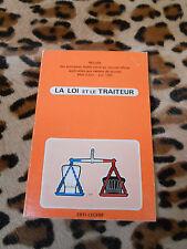 La loi et le traiteur - Erti-Lecerf - 1980