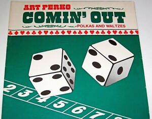 "ART PERKO SLOVENIAN POLKA LP RECORD ""COMIN OUT "" SUPER CLEVELAND STYLE BAND"