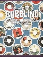 Bubbling Under Hot 100 1959-1985 (hardcover)-ExLibrary