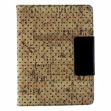 M-Edge Universal Stealth Folio Case for 8-inch Tablets - Tan Cork / Black