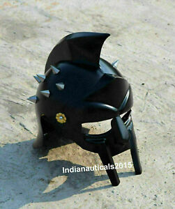 Medieval Gladiator Maxims Viking Armor Helmet handmade