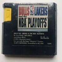 Bulls vs Lakers and the NBA Playoffs (1992 SEGA Genesis Basketball Video Game)