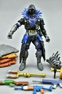 """Fortnite Raven Jazwares 4"""" Action Figure Epic With Back Bling"""