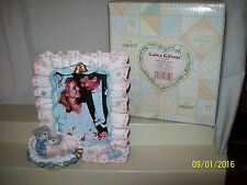 Enesco Calico Kittens Bride And Groom Photo Frame 625949