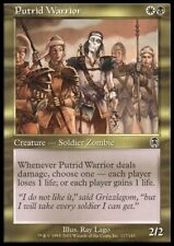 Mtg 4x Putrid Warrior-Apocalypse * Zombi Deutsch *
