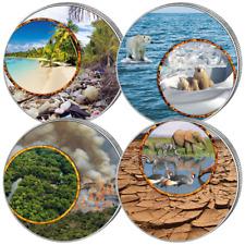 Kanada 4 x 5 Dollar 2020 Maple Leaf Vier Jahreszeiten Satz - 4 x 1 Oz Silber ST