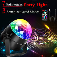 Rechargeable LED Disco Strobe Light Stage Lighting Home KTV Party Club DJ Ball