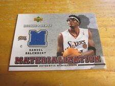 Samuel Dalembert 2006-07 Upper Deck Rookie Debut Materialization #SD Relic 76ers