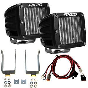 RIGID LED DOT SAE Compliant Fog Light Kit for 99-16 Ford F250 F350 Super Duty