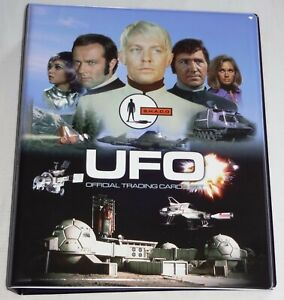 Gerry Anderson's UFO 1 UK TV - Mint Black Binder + 10 Pages + Auto + Promos
