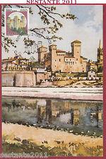 ITALIA MAXIMUM MAXI CARD ROCCA CASTELLO VIGNOLA MODENA 1987 ANNULLO B330