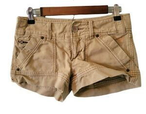 American Eagle Outfitters Women's Size 0 Short Cargo Style Shorts Cotton Blend
