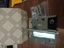 "New in original box Baldwin  1040-402-1 4x 4 "" Oil Rubbed Bronze Hinge"