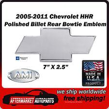 2005-2011 Chevrolet HHR Polished Billet Aluminum Bowtie Rear Emblem AMI 96005P