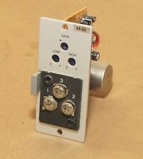 TOA M-01 Balanced Mic Input Expansion Module