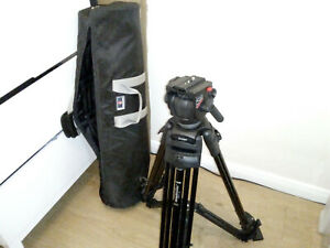 Manfrotto 525MVB, 2-Stage Tripod 75mm bowl With 503 Model Fluid Head