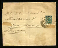 AUSTRIA OFFICE IN TURKEY to GERMANY wrapper - CONSTANTINOPEL cancel