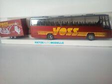 """Rietze 80089 """"VOLVO B12-600 Bus VOSS"""" , neuf, OVP HO 1/87 bus remorque holstein"""