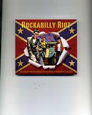 ROCKABILLY RIOT - JOHNNY BURNETTE CARL PERKINS ELVIS PRESLEY - 2 CDS - NEW!!