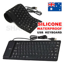 Portable USB Mini Foldable Flexible Silicone PC Keyboard For Laptop Notebook