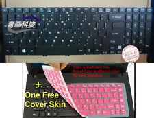 (USA) Original keyboard for acer Aspire V3-571 US layout Backlit 0231#