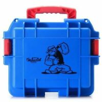Invicta (3)Three Slot Impact Resistant Blue POPEYE Dive Collector Case/Watch Box