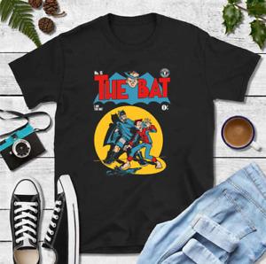 R1 Venture Bros Hank And Dean Cosplay Batman Comic Cover Black T-Shirt S-6XL