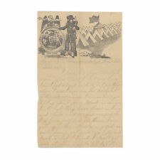 1863 Civil War Letter by 24th New York Soldier - Columbian Hospital, Washington