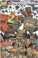 TRANSFORMERS Vs GI JOE Comic Book #2 Subscription Variant IDW Ed Piskor EDDIE P