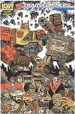TRANSFORMERS VS GI JOE Comic Book #2 Subscription Variant Cover IDW 2014 Piskor