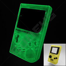 NUOVO Giallo fluorescenti al buio NINTENDO GAME BOY ORIGINALE DMG CASE / Shell / Alloggiamento