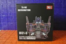 Transformers Takara MP08 Reximus Prime OS Grimlock & Wei Jiang M01-D Battle D