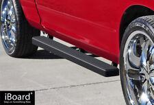"4"" Black iBoard Running Boards Nerf Bars Fit 09-18 Dodge Ram 1500 Quad Cab"