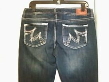 Great!  MAURICES women's Original Fit dark wash boot cut jeans Size 3/4 short