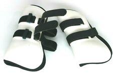 Horse & Rider Brand White Jump Boots (Pair) Size Medium 42945Wh