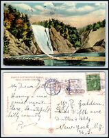 CANADA Postcard - Montmorency Falls L39