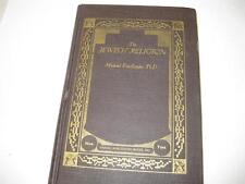 The Jewish Religion by Michael Friedlander 530 pages book