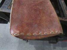 37x13 1/2 leather case archery rifle vintage handmade heavy leather hunting