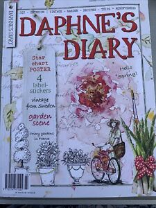 Brand New Daphne's diary number 3 2021 Lifestyle Magazine With Inserts