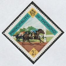 Ireland - Thomond (800) 1968 EUROPA opt inverted on 2.5d Horse Racing u/m