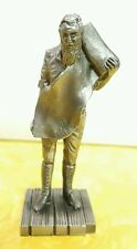 Vintage Franklin Mint Saturday Evening Post Pewter Figurine FashionGeneral Store