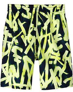 """NWT Nike Boy's 8"""" Glow 8"""" Volley Venom Size M"""
