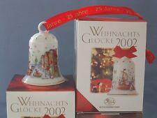 Hutschenreuther - Weihnachtsglocke 2002 - Glocke Porzellan - NEU - OVP - 1. WAHL