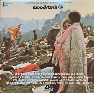 Woodstock LP Original Soundtrack Oz Triple Album in beautiful condition