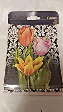 Tulip Note Cards & Envelopes 8 per pkg Blank (Lot of 4)