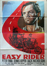 EASY RIDER Italian movie poster 55x78 Peter FONDA Dennis HOPPER