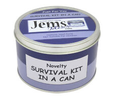 Jems Ideas Novelty 50th Birthday Survival Kit Gift & Card all in One